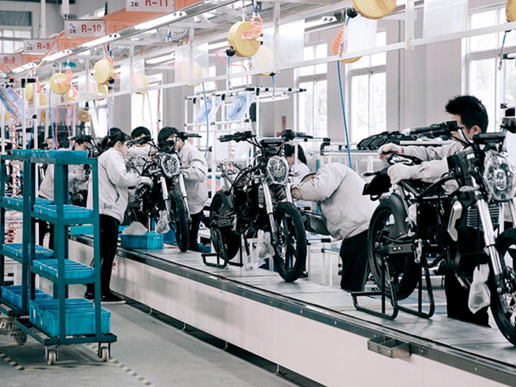 Fábrica de Super Soco en Nanjing
